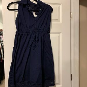 Motherhood Size M Maternity Navy Dress